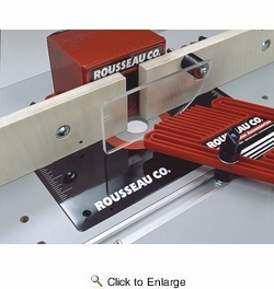 "Rousseau 0048  48"" Router Table Miter Gauge Track - T-Track Design"
