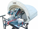 Rousseau  5000  Dust Solution Hood For Miter Saws with Vac Port