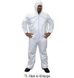 SAS Safety 6893  Gen-Nex Hooded Painter's Coverall - Large (1 per Package)