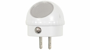 Satco 75-074  LED Night/Guide Light with Auto Dusk to Dawn Sensor - Rotates 360 Degrees