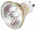 Satco S3501  120-Volt 35 Watt Halogen MR16 Flood Bulb with 36 Degree Beam and GU10 Base