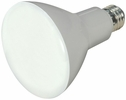 Satco S9621  9.5 Watt Dimmable 3000K Warm White LED BR30 Reflector Flood Light Bulb - Medium Base (65w Equivalent)