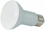 Satco S9630  6.5 Watt Dimmable 2700K Warm White LED R20 Reflector Flood Light Bulb - Medium Base (50w Equivalent)