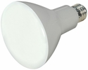 Satco S9698  8 Watt Dimmable 2700K Warm White LED BR30 Reflector Flood Light Bulb - Medium Base (65w Equivalent) - 2 Bulbs per Pack