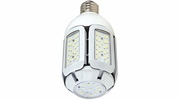 Satco S9750  30 Watt Non-Dimmable HID Replacement 5000K Natural Light LED Light Bulb with Adjustable Beam Angle - Medium Base (200w Equivalent)