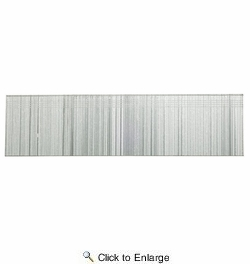 "Senco ZX18EAANR  1-5/8"" X 21 Gauge Galvanized Straight Strip Medium Head Pins - 800 Per Box"