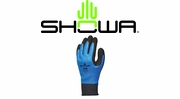 Showa Best 306 Breathable and Water Repellant Fully Coated Latex Grip Gloves