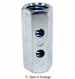 """Simpson Strong Tie CNW5/8-R  5/8"""" Coupler Nut w/Indicator 20 per Box"""