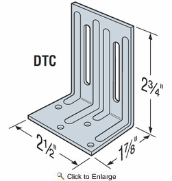Simpson Strong Tie DTC Roof Truss Clip
