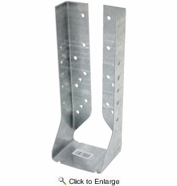 Simpson Strong Tie HUC210-2Z  Double 2x10 Heavy Duty Joist Hanger Concealed/Reverse Flange Z-Max Finish