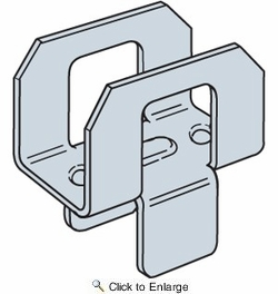 """Simpson Strong Tie PSCL1/2  1/2"""" Panel / Plywood Sheathing Clip 250 per Box"""
