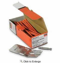 "Simpson Strong Tie SDWC15600KT  6"" Truss Screw Kit - 50 per Package (Clear Zinc with Orange Topcoat)"