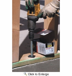 "Simpson Strong Tie THD50500HMG  1/2"" x 5"" Titen HD Heavy Duty Screw Anchor Mechanically Galvanized - 20 per Box"