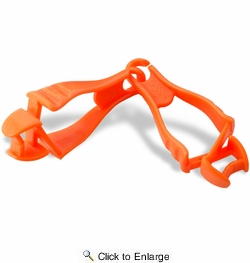 Squids 3400  Dual Clip Glove Grabber - Orange (19118)