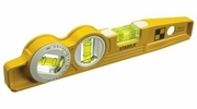 "Stabila 25360  10"" Die Cast Torpedo Level with 360 Degree Vial and V-Groove Magnet"