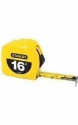 """Stanley 30-495  16' x 3/4"""" High-Visibility Tape Measure - Yellow"""