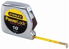 "Stanley 33-115  10' x 1/4"" PowerLock Pocket Tape Measure"