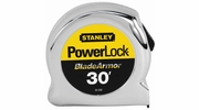 "Stanley 33-530  30' x 1"" PowerLock Tape Measure with Blade Armor Coating"