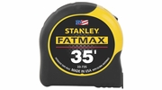 """Stanley 33-735  35' x 1-1/4"""" FatMax Tape Measure with Blade Armor Coating"""