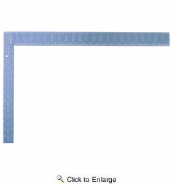 "Swanson TA127  16"" x 24"" ""Thick One"" Heavy-Duty Aluminum Rafter Square"