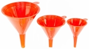 "Tool Choice 17515  3-Piece Plastic Funnel Set (2"", 3"", 4"")"