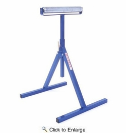 """Trojan Manufacturing RS-15  15"""" Roller Stand - Heavy Duty"""
