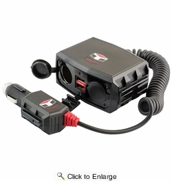 Tuff Tech 23380   12V Power With Hi-Speed USB Ports