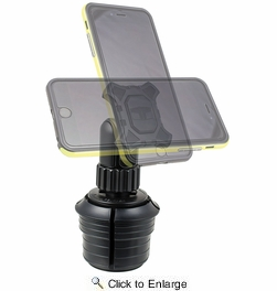 Tuff Tech 23384   Magnetic Cup Mount Phone Holder
