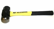 """V&B Manufacturing 59231  3-lb Steel Double Faced Sledge Hammer with 16"""" Fiberglass Handle (DF3XF)"""