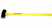 """V&B Manufacturing 59247  8-lb Steel Double Faced Sledge Hammer with 36"""" Fiberglass Handle (SL8XF)"""