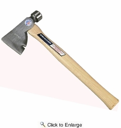 """Vaughan & Bushnell 204-20  28-oz Rig Builders Hatchet with 17"""" Hickory Handle (RB)"""