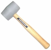 "Vaughan & Bushnell 574-42  18-oz Non-Marring Rubber Mallet with 10-1/2"" Hickory Handle (RM18DB)"