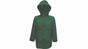 Viking Wear  2910JG  Open Road 150D Green Rain Jacket with Hood - XLarge