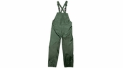 Viking Wear  2910PG  Open Road 150D Green Rain Bibs with Supenders - Medium