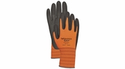 Wonder Grip WG510HV  Extra-Tough High Visibility Nitrile Palm Gloves - Small