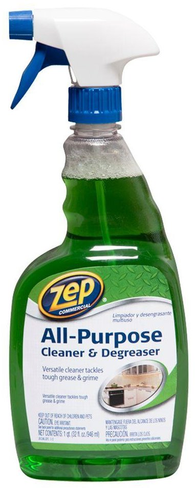 Zep Commercial ZUALL32 All Purpose Cleaner   Degreaser   32 oz Bottle. Commercial ZUALL32 All Purpose Cleaner   Degreaser   32 oz Bottle