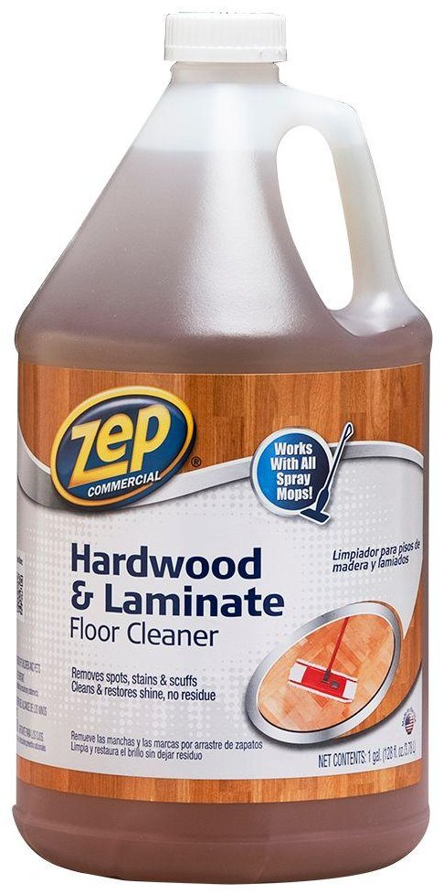 Zep Commercial Zuhlf128 Hardwood Laminate Floor Cleaner Gallon