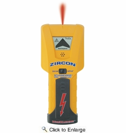 Zircon 61980  StudSensor Pro LCD Edge Stud Finder with Easy-to-Read LCD Screen and Spotlight Pointing System (61981)