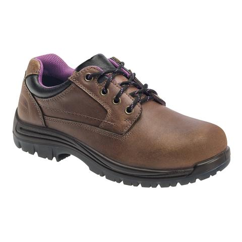 Work Boots Price: $93.50. Avenger Women's Slip Resistant Composite Toe  Oxford Work Shoe 7166