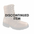 "Bates Women's 8"" Side Zip Steel Toe Women's Boot"