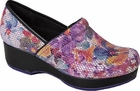Cherokee Angelique Purple Floral Clog PUFL