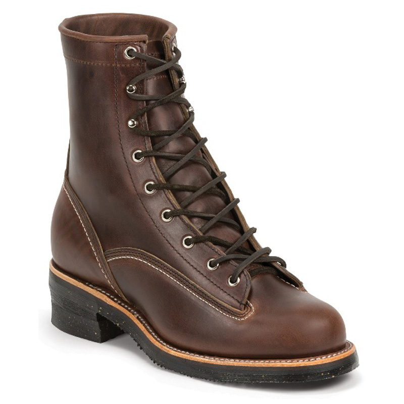 Chippewa 1935 Original Chocolate Mountaineer 8 Inch Work