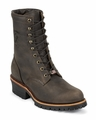"Chippewa 8"" Chocolate Apache Logger Boot 20090"