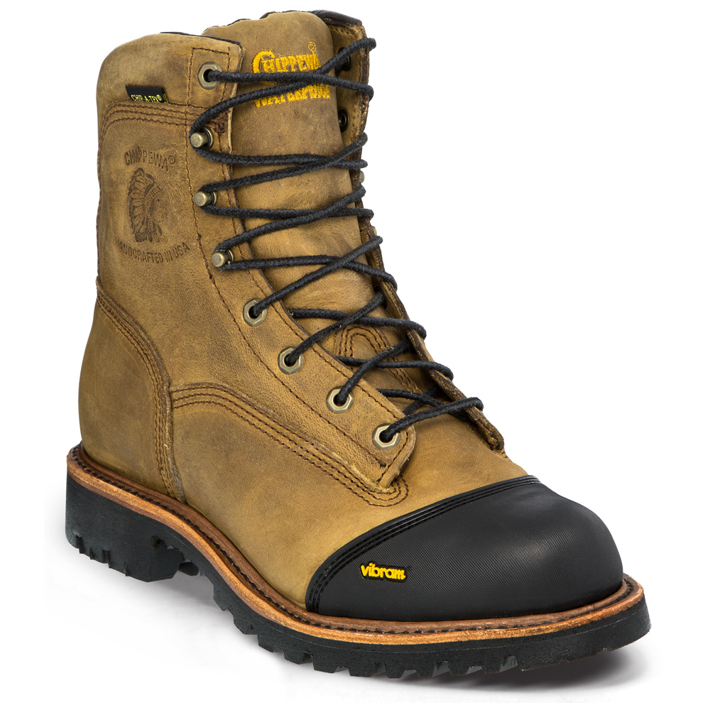 Chippewa Golden Sand Apache 8 Inch Waterproof Insulated
