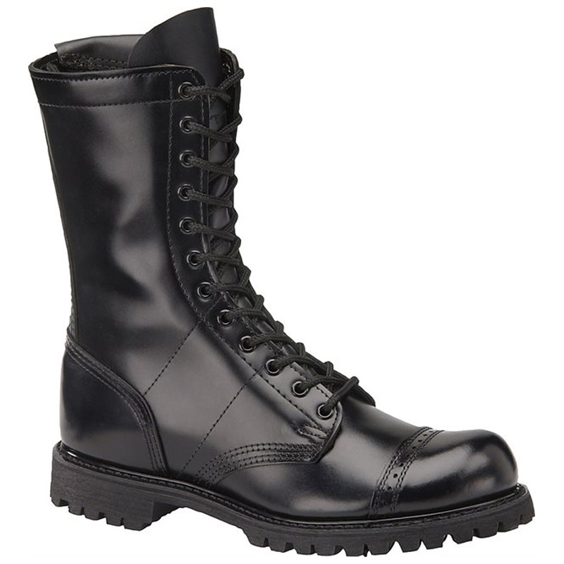 10 Inch Leather Side Zipper Tactical Boot 985