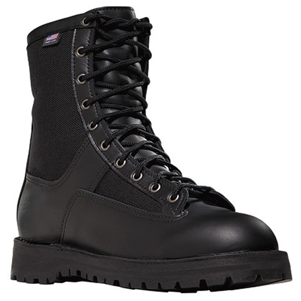 Danner Acadia 8 Inch Black Boots | Work Boots USA