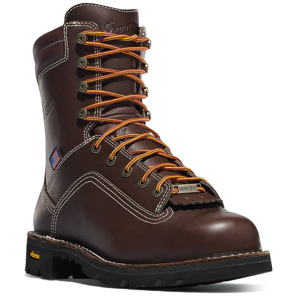 Danner Quarry 8 Inch Alloy Toe Waterproof Work Boot 17307