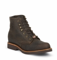 "LIMTED TIME Chippewa 6"" CHOCOLATE APACHE LACER 20065"
