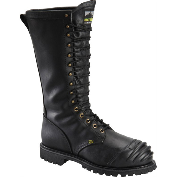 Miner Leather Work Boots - Waterproof (For Men) 2TLj0Y