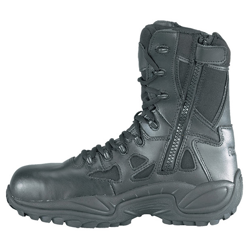 Rapid Response Tactical Boot Safety Toe and SideZip